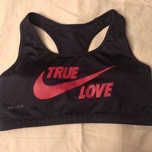 Nike Tops - Nike Sports Bra True Love